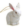 Carved Rabbit Ornament