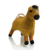 Felted Pony Ornament