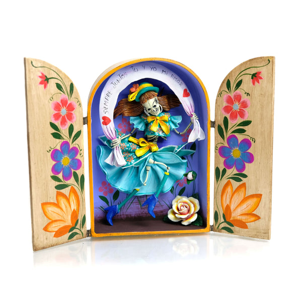 Skeleton Retablo