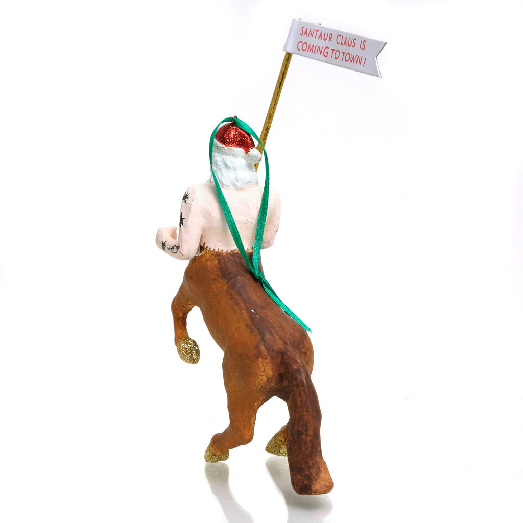 SANTAUR CLAUS IS COMING TO TOWN Ornament
