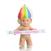 Rainbow Hair Troll Ornament