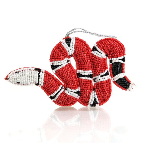 Coral Snake Ornament