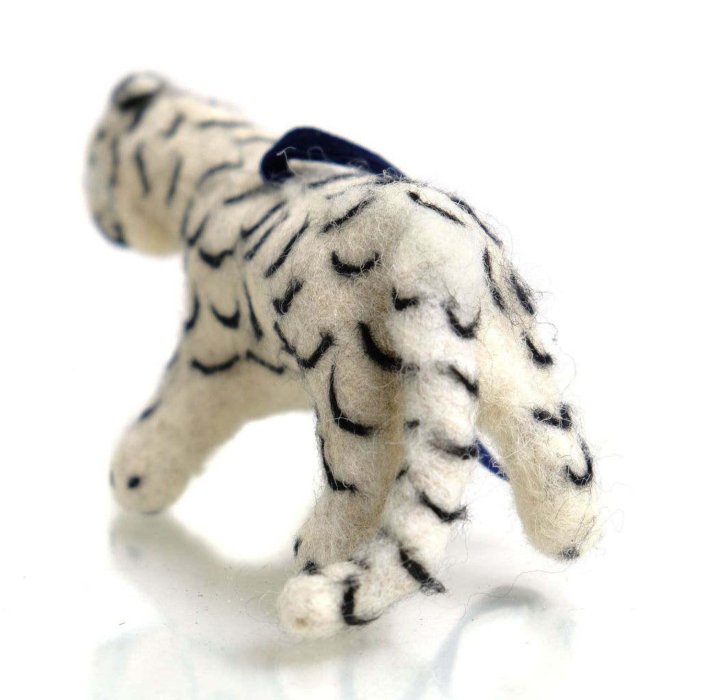 Snow Leopard Ornament