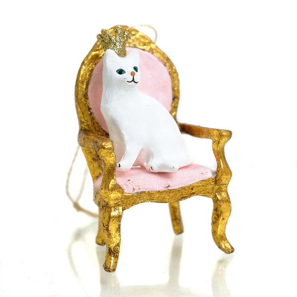 Kitten Queen Ornament