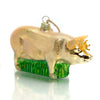 Pig Glass Ornament