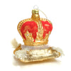 Coronation Glass Ornament