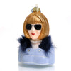 Anna Wintour Glass Ornament