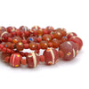 Contemporary Java Glass Roman Eye Beads Style Strand #2