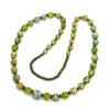 Contemporary Java Glass Roman Eye Beads Style Strand #1