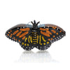 Monarch Butterfly Glass Ornament