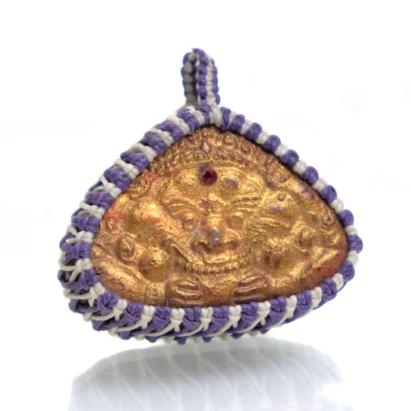 Lord Rahu God of Darkness Amulet