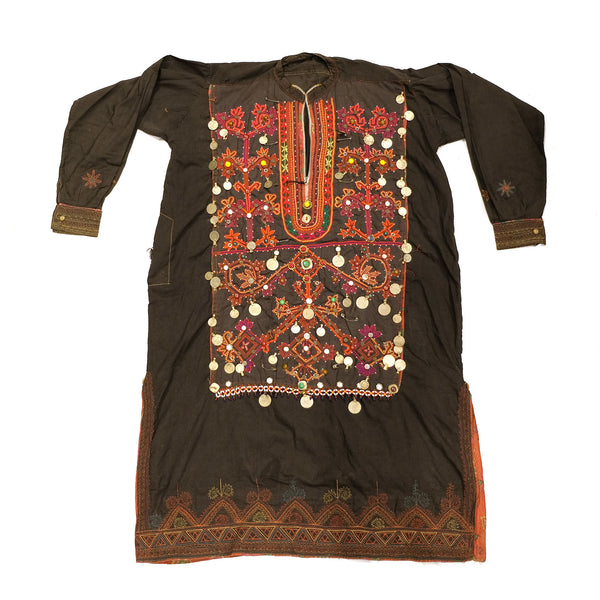 Embroidered Afghan Dress