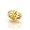 22K Gold Plated Over Sterling Silver Bead #24
