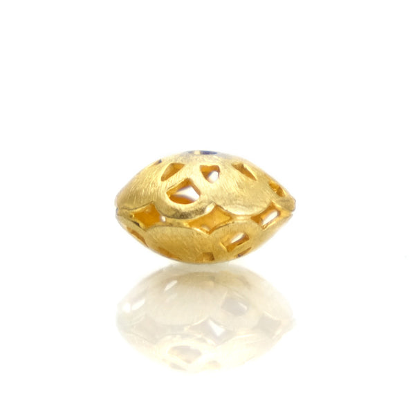 22K Gold Plated Over Sterling Silver Bead #5