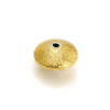 22K Gold Plated Over Sterling Silver Bead #1