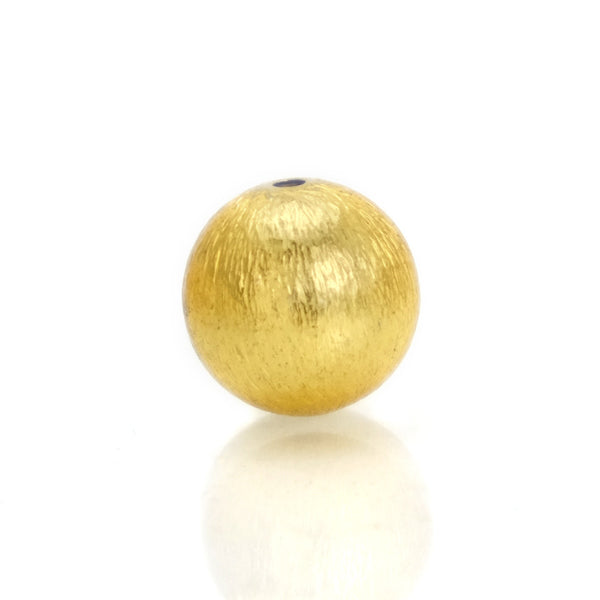 22K Gold Plated Over Sterling Silver Bead #21