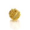 22K Gold Plated Over Sterling Silver Bead #9