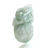 Jade Three Legged Nephrite Wealth-Beckoning Frog Pendant