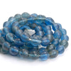 Periwinkle Biconal Bead Strand