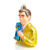 Mr. Rogers Glass Ornament