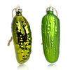 Christmas Pickle Glass Ornament