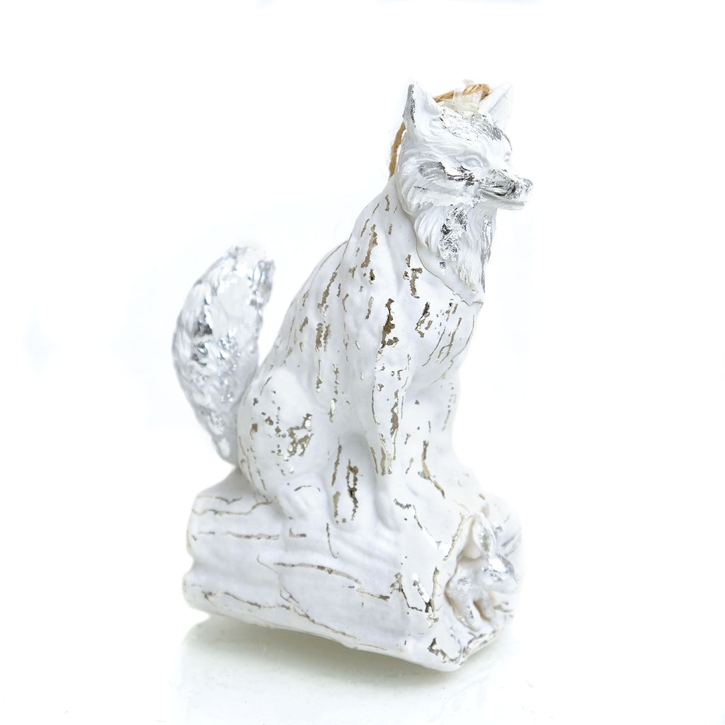 Woodland Fox and Rabbit Ornament