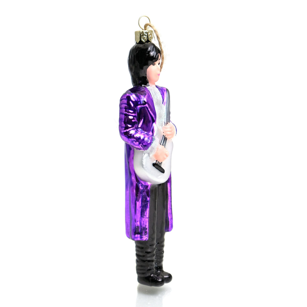 Prince Standing Glass Ornament