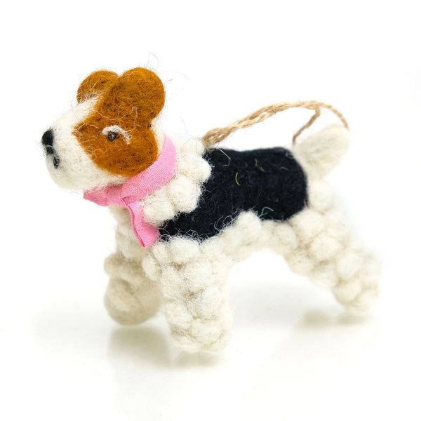 Festive Dog Ornament 4
