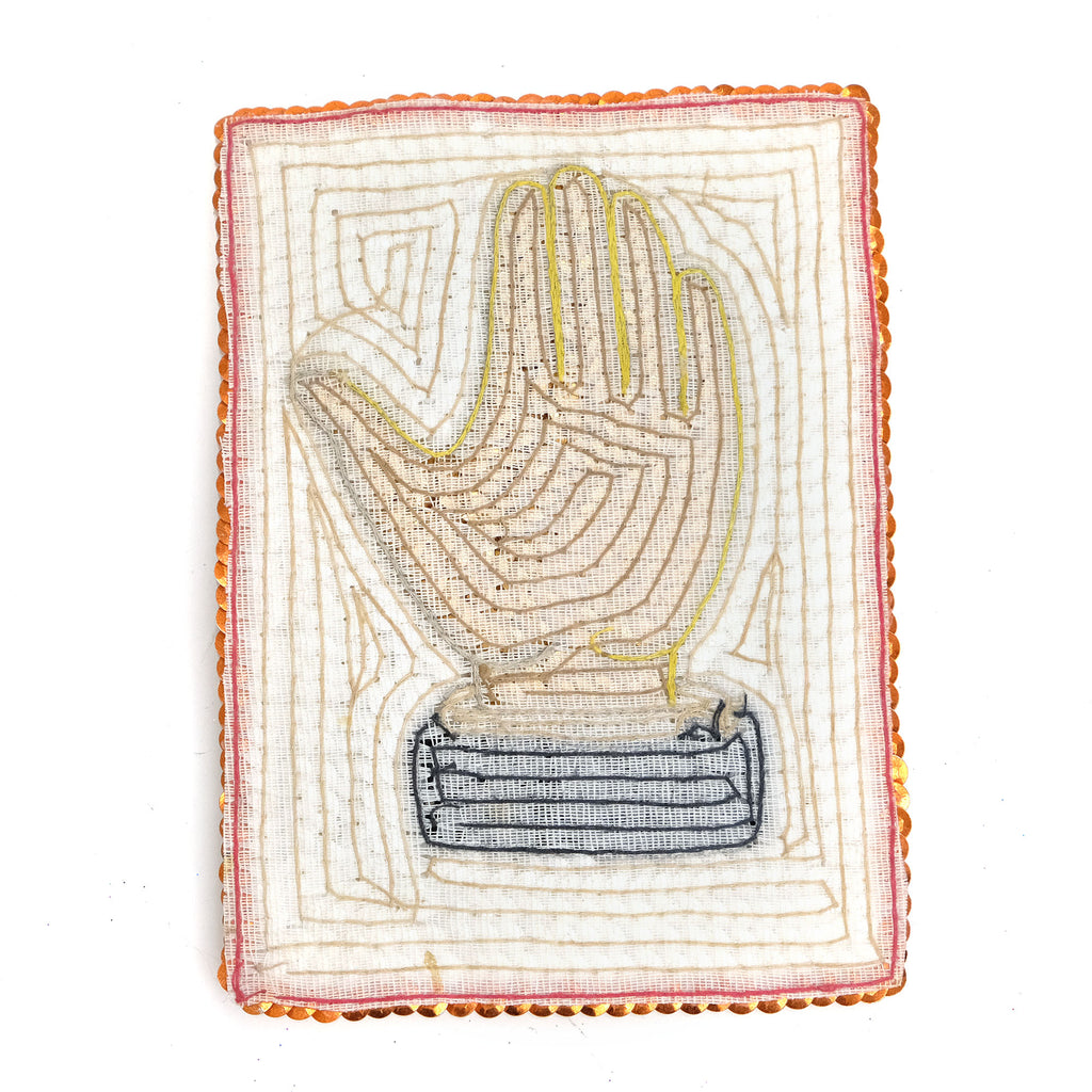 Sequin Patch, Hand
