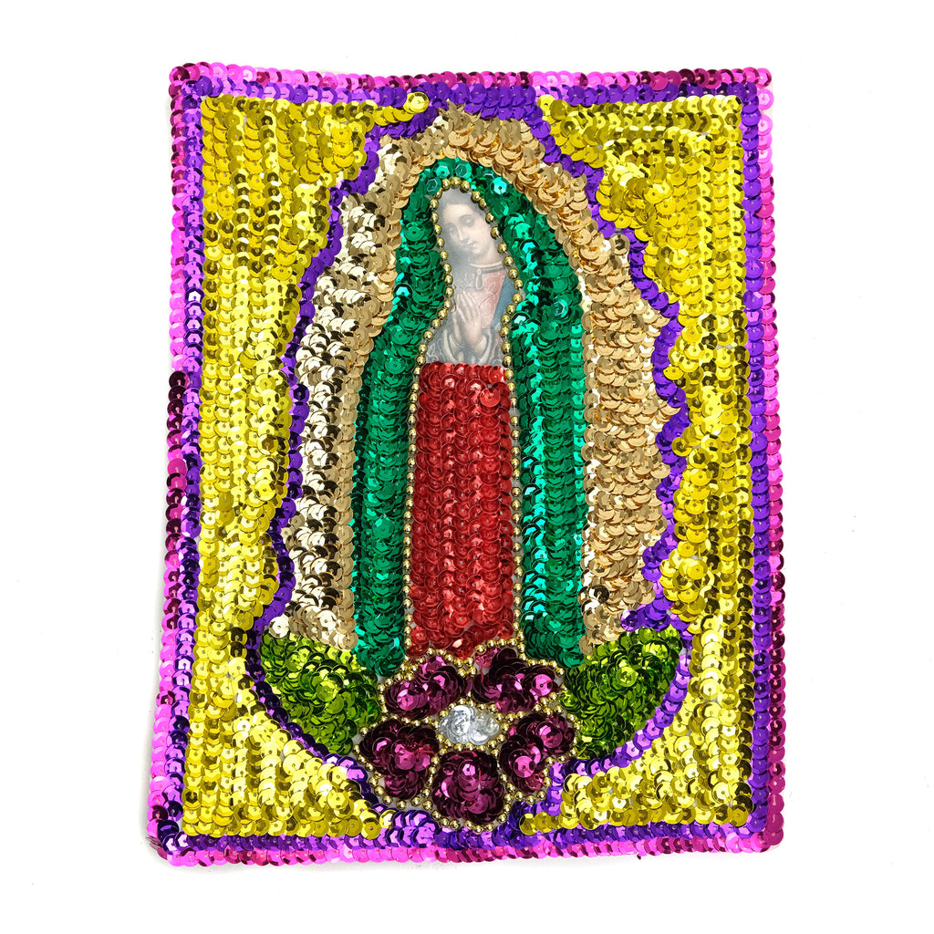 Sequin Patch, Virgin of Guadalupe
