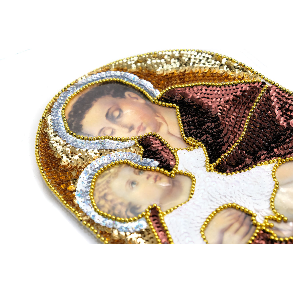 Sequin Patch, Saint Anthony