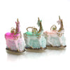 Tiny Unicorn Glass Ornament
