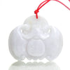 Jade Nephrite Auspicious Bat of Good Fortune Pendant