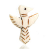 Carved Bone Pendant, Eagle