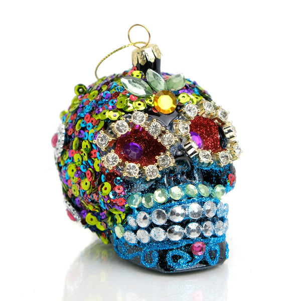 Glam Day of the Dead Ornament