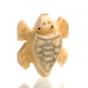 Carved Bone Pendant, Turtle 6