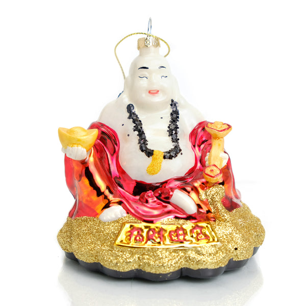Jolly Buddha Ornament