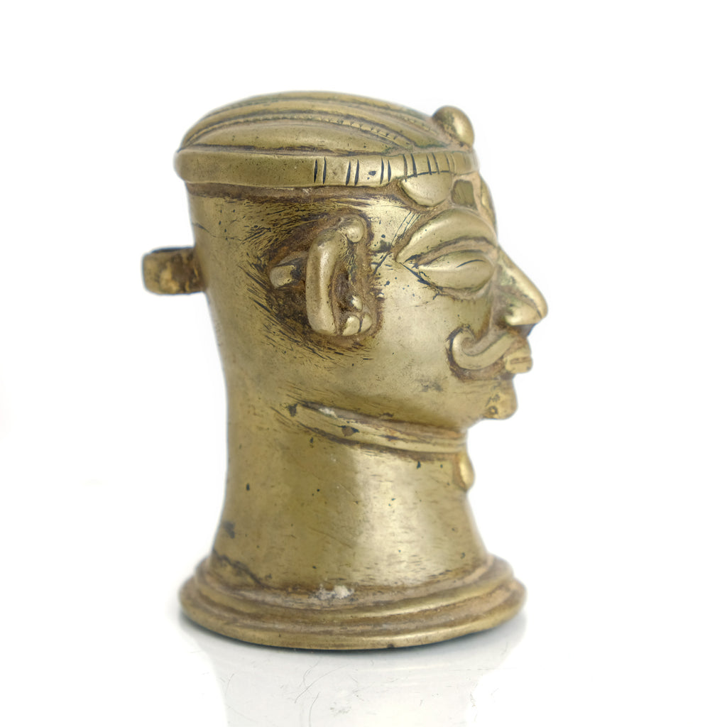 Late 19th Century Brass Shiva - The Guardian of End of Life