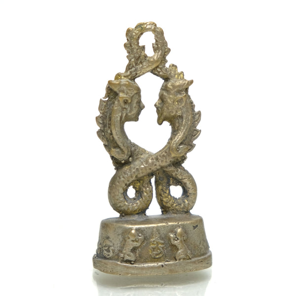 Naga King and Queen Couple Love Amulet