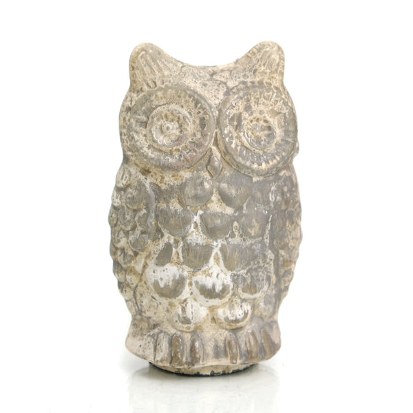 Glass Owl Antique Small