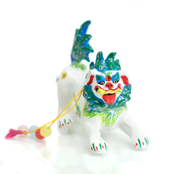 Dancing Folk Lion Ornament