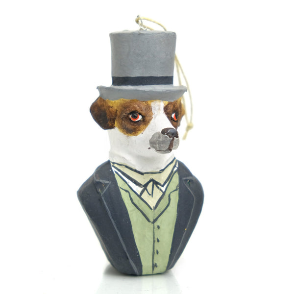 Canine Gent Ornament #3