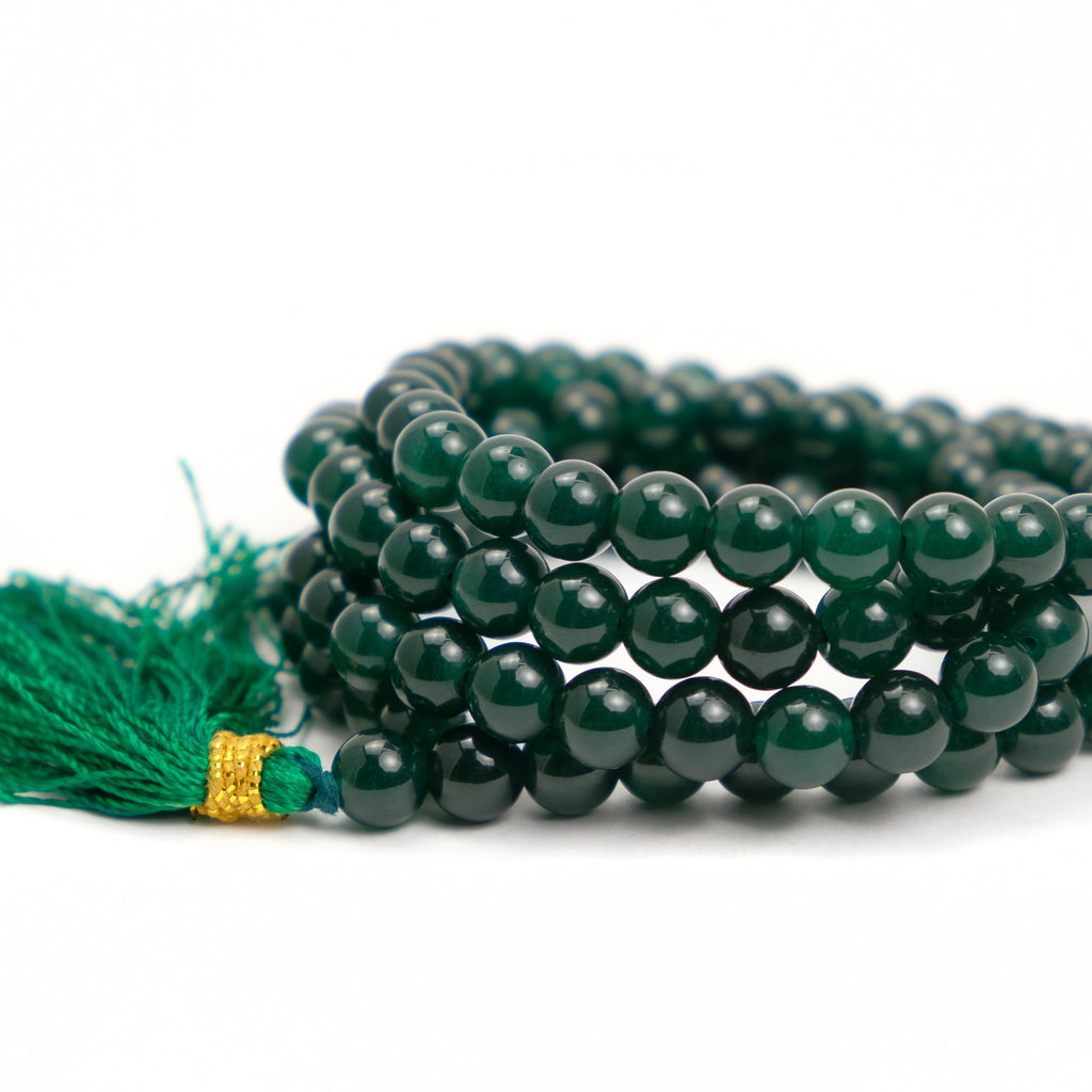 Green Aventurine 8mm Mala