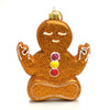Yoga Gingerbread Man Ornament