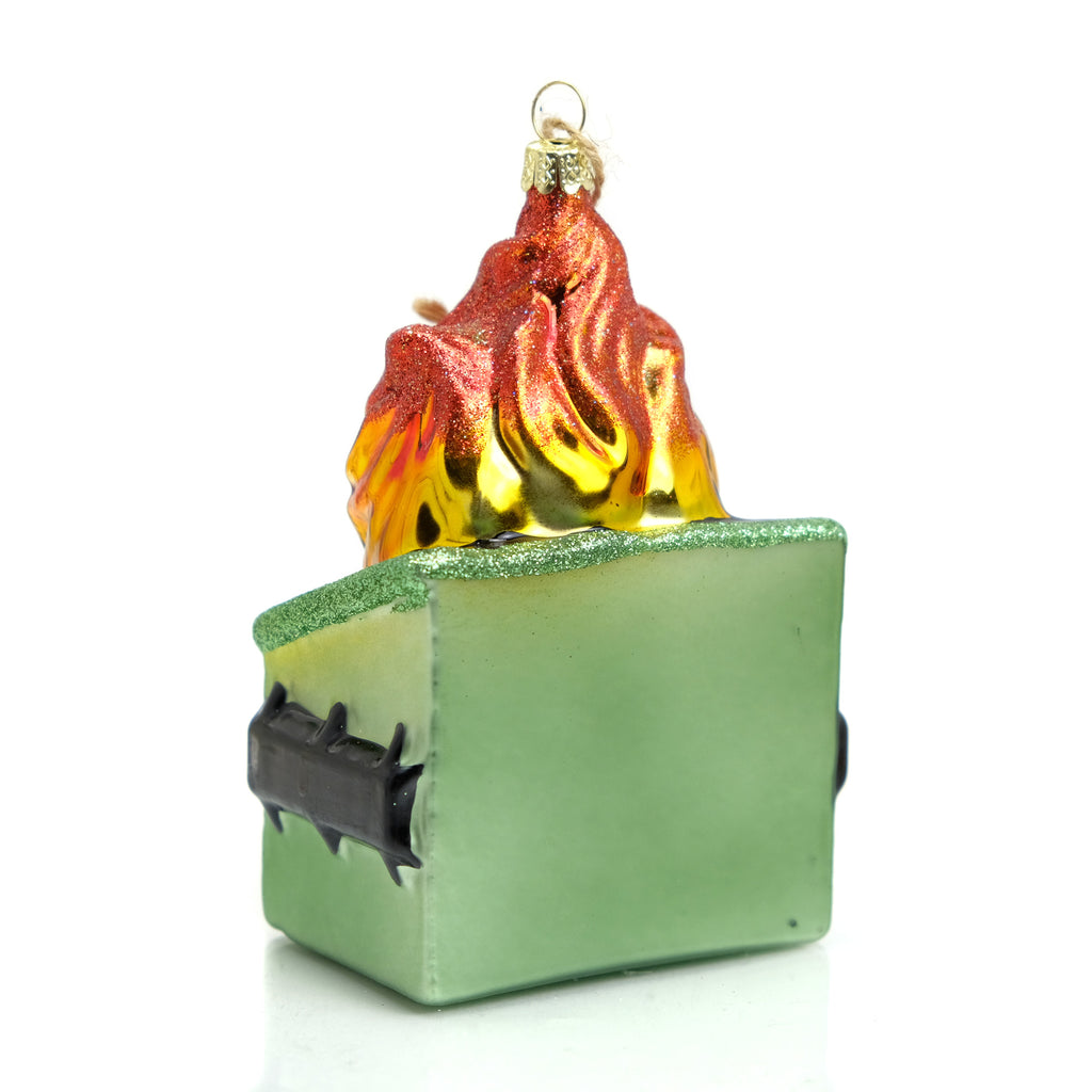 Dumpster Fire Ornament