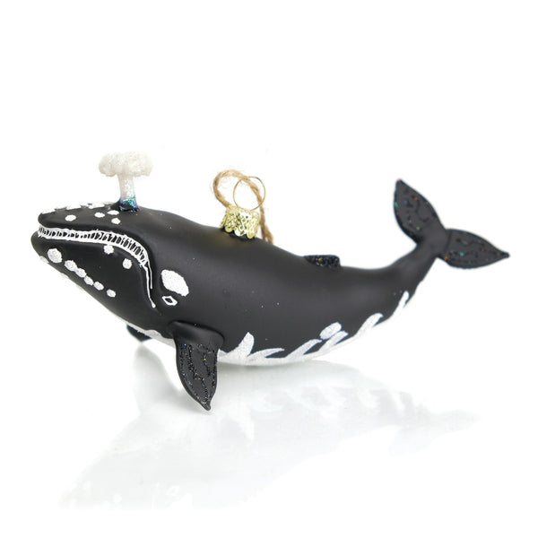 Icy Depths Baleen Whale Ornament