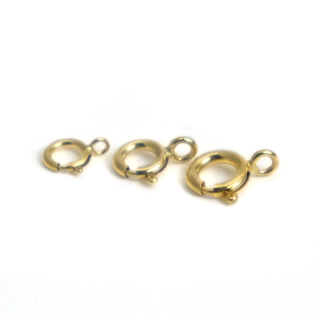 Gold Filled Spring Clasp