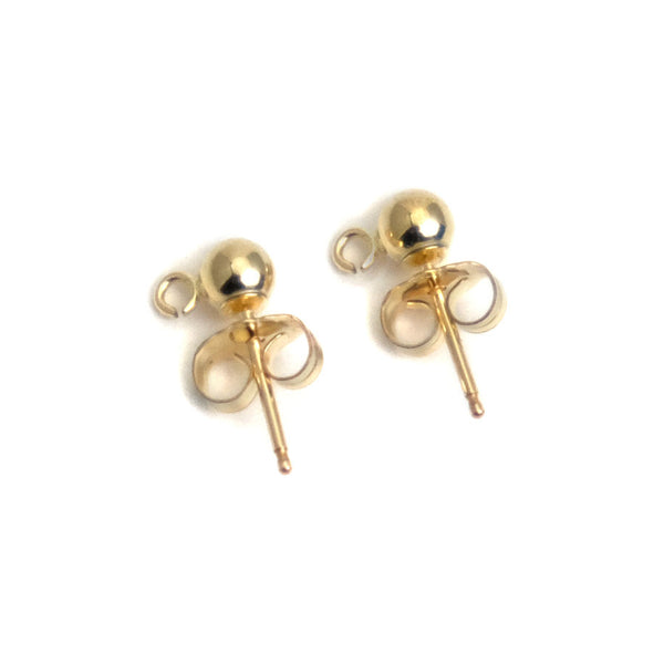 Gold Filled Earring Posts