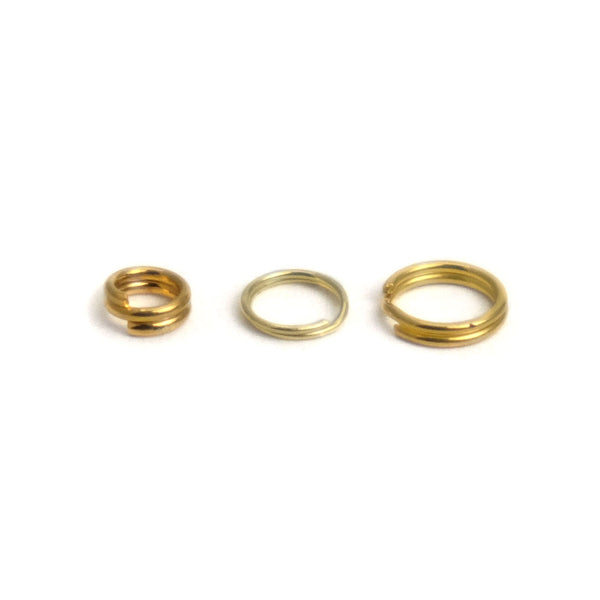 Gold Filled Jump Rings, Split