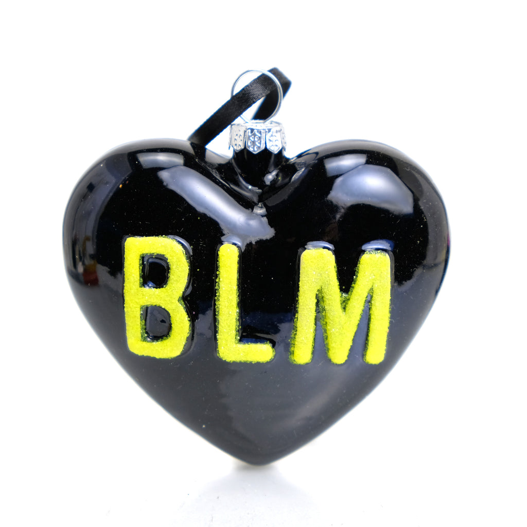 BLM Heart Ornament